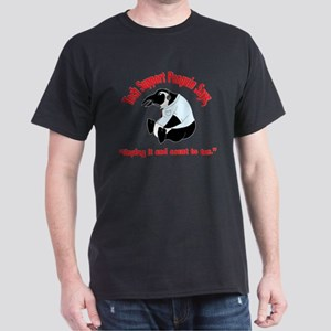 Tech Support Penguin - Ten Dark T-Shirt